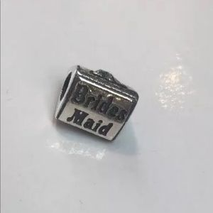 Zable Jewelry - Zable 925 Sterling silver Bridesmaid Bead Charm